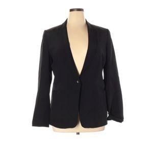 Garnet Hill 100% Silk Blazer
